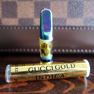 Gold cartridge vape